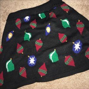 Dresses & Skirts - Sweater skirt. Holiday/Christmas/xmas skirt